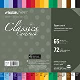 Neenah Creative Collection Classics Specialty Cardstock Starter Kit, 8 X 8 Inches, 72 Count (46406-01)
