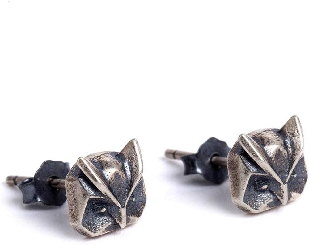 NoBrand s925 Plata esterlina Cien-Set geometría búho Oreja Ornamento spruntation diseño Independiente uñas
