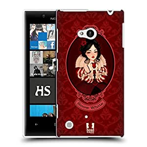 Head Case Designs Snow White Fairy Tale Princesses Hard Back Case Cover for Nokia Lumia 720
