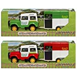 Equestrian Off Road Vehicle & Horse Box *GIRLS Toy* Great GIFT Present Idea