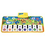 Fresh Household Piano Mat, Kids Music Mat Dance Mat Playmat Education Toy Birthday Christmas Easter Day Gift for Boys Girls