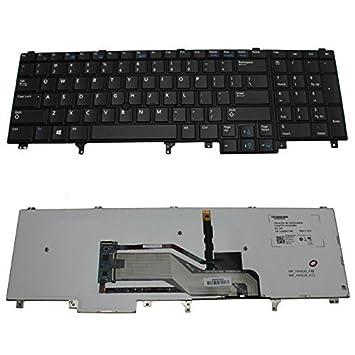 New US teclado retroiluminado para Dell M4700 M4800 M6700 M6800 portátiles de la serie HG3G3: Amazon.es: Informática