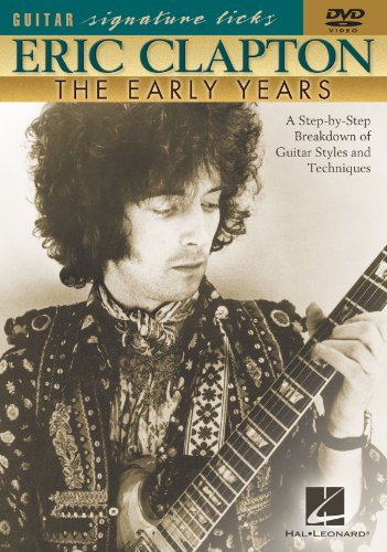 Eric Clapton - The Early Years - Guitar Signature Licks - DVD ()