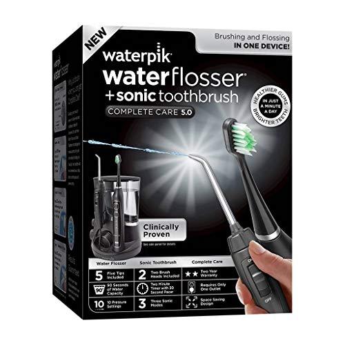 Waterpik Complete Care 5.0 Toothbrush & Water Flosser black