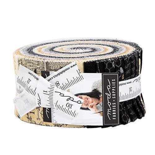 - Deb Strain Bee Joyful Jelly Roll 40 2.5-inch Strips Moda Fabrics 19870JR