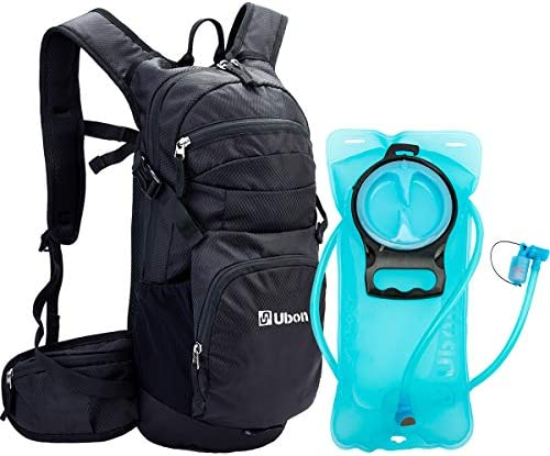 Ubon Hydration Backpack with 2L Water Bladder for Running Cycling Hiking Camping