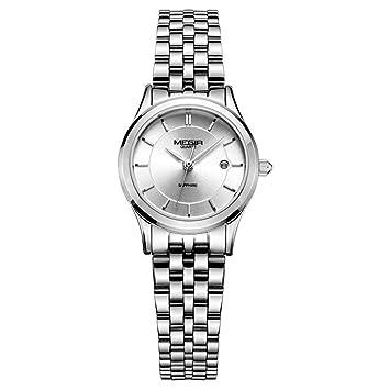 North King Indicación de la Fecha de Relojes señoras Reloj de Cuarzo Estudiante de Moda Reloj de Cuarzo Reloj Relojes Bonitos para Regalo de cumpleaños de ...