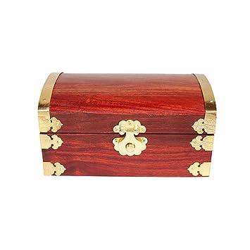 SXBISHNEG Caja de joyería, Caja de Madera Caja de Llaves ...