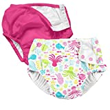 i play. 2 Pack Absorbent Toddler Swim Diapers Hot