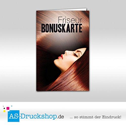 Bonuskarten Friseur - Mahagonibraun 250 Stück B07D3XX6JF | In hohem Grade geschätzt und weit vertrautes herein und heraus