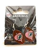 NFL Miami Dolphins Love Dangle Earrings