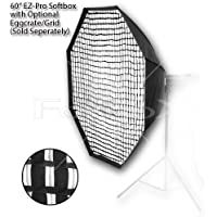 Fotodiox EZ-Pro Octagon Softbox 60 with Speedring for Photogenic Studio Max III 160, 320, Powerlight PL1250 and more