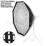 "Fotodiox EZ-Pro Octagon Softbox 60"" with Speedring for Bowens Gemini Standard, Classica Powerpack, R, RX & Pro Series Strobe"