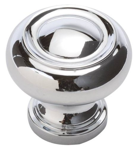 1-1/4 in. Cottage Chrome Cabinet Knob (Set of 10)