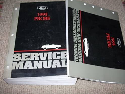 1995 ford probe service shop repair manual set 95 oem service rh amazon com 1995 Ford Probe GT Problems 99 Ford Probe