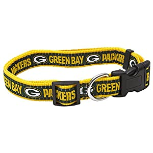 Pets First NFL Green Bay Packers Pet Collar, Medium
