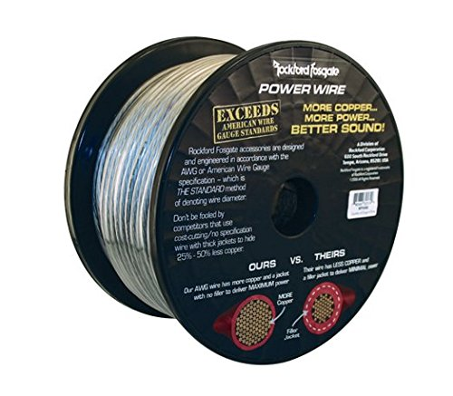 Rockford 250' Spool 8 Awg Frosted by Rockford