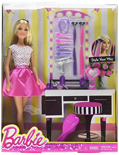 Koehler 12010570 13.25 inch Barbie Style Your Way Doll an...