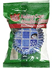 Cake Mate, Decorating with Ease, Baking Cups, Holiday, 50 Count