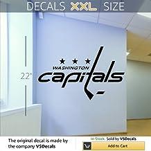 Wall Mural Vinyl Sticker Sports Logos Nhl-washington Capitals (S596) FRST