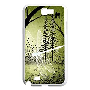 Beautiful Dragonfly Unique Fashion Printing Phone Case for Samsung Galaxy Note 2 N7100,personalized cover case ygtg-309176