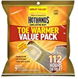 HotHands Toe Warmer Value Pack - 7 Pairs of Toe Warmers -