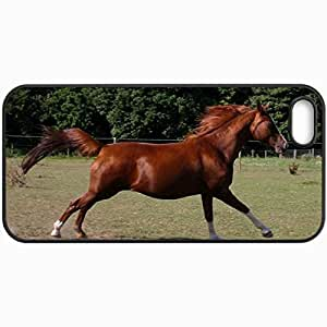 Customized Cellphone Case Back Cover For iPhone 5 5S, Protective Hardshell Case Personalized Take Two Black