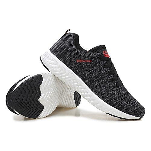 des extérieures Course Hommes Chaussures légères Chaussures Espadrilles 18622 Grey1 Les Lacent de de Hommes Les des Mode décontractées 8rUw0OUq6x