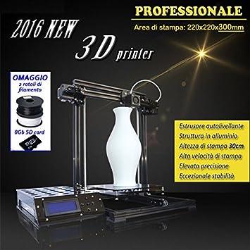 Impresora 3d metal X3 A: Amazon.es: Oficina y papelería