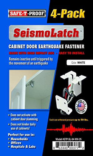 SeismoLatch Earthquake Activated Cabinet Color 4 product image