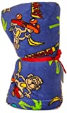 Made With Love and Kisses Super Soft, Super Fuzzy 58'' x 58'' Blanket/Throw (Royal Blue Cool Monkey)