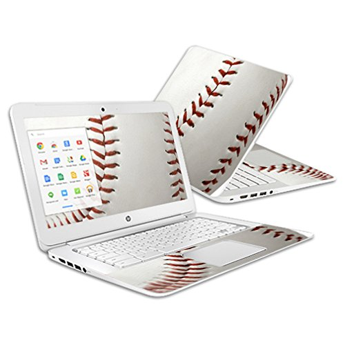 Price comparison product image Mightyskins Skin Compatible with Hp Chromebook 14 (2014) - Baseball / Protective,  Durable,  and Unique Vinyl Decal Wrap Cover / Easy to Apply,  Remove,  and Change Styles / Made in The USA