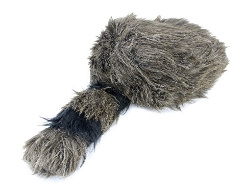 Well Pack Box Davy Crockett Daniel Boone Soft Raccoon Tail Hat Fake Fur - Powder Horn Costume Great for Halloween and Costume Parties by Well Pack Box (Image #3)