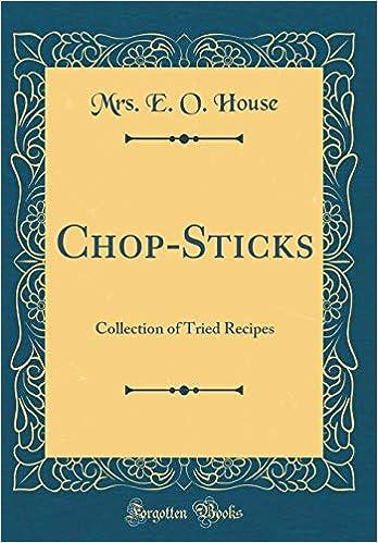 Descargar Ebook Torrent Chop-sticks: Collection Of Tried Recipes Ebooks Epub