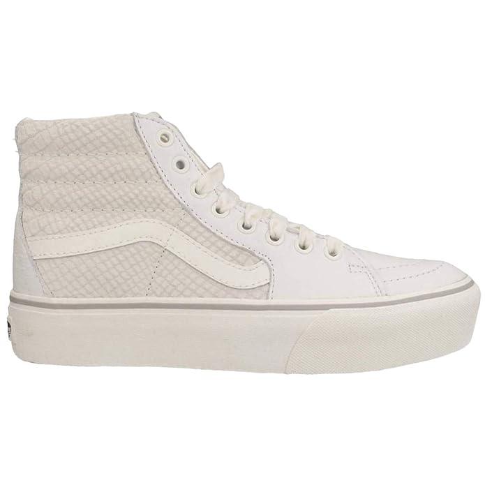 Vans Sk8-Hi Schuhe High Tops Erwachsene Unisex Weiß (Snake White)