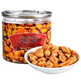 XSD Dry Roasted Salted Peanuts, Chinese Peanuts Snacks Nuts Gourmet Jar Packaged 325g 11.46 Ounce