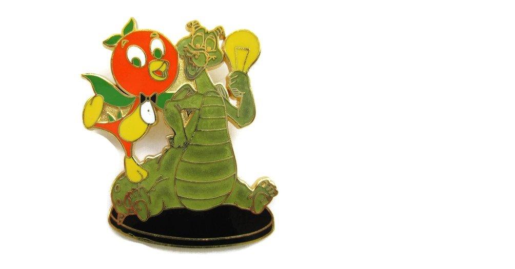 Disney Pin WDW - Imagination Gala - Board Exclusive - Figment & Florida Orange Bird