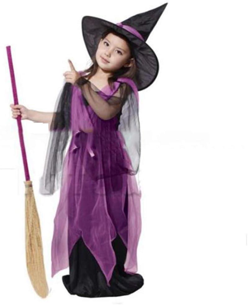 XRQ Bruja de Disfraces de Halloween, Traje de Bruja, Disfraz de ...