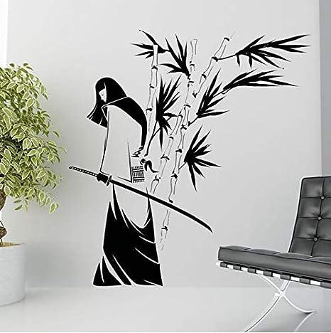 Lovemq Kendo Sticker Samurai Calcomanía Arte De Vinilo Ninja ...