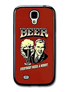 Beer Everybody Needs a Hobby! Vintage Illustration case for Samsung Galaxy S4