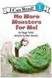 No More Monsters for Me! Book and Tape (I Can Read Book 1)