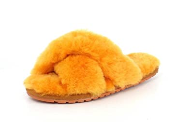 213b9eca3 Image Unavailable. Image not available for. Colour: Emu Australia Womens  Slippers Mayberry ...