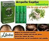 Potenciado por la milenaria herbolaria mexicana. Un producto 100% natural que le ayudará a estimular el Crecimiento del cabello. Revitaliza y nutre el folículo piloso. Amollas CRECIMIENTO INTENSIVO con Ingredientes 100% NATURALES: Jojoba, Jal...