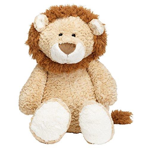 JOON Leo The Lion Stuffed Animal, Tan, 17 Inches (Best Made Toys Jumbo Sitting Lion)