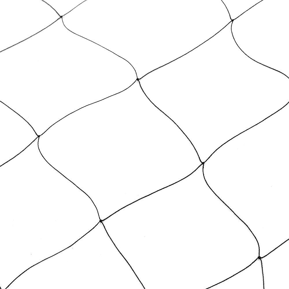 Decdeal Gartennetz 15x15m Anti Vogel Teich Netz 5x5cm L/öcher Sch/ützen Pflanzen Obstb/äume und Gem/üse
