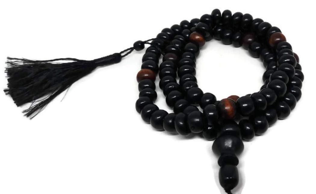 Muslim Prayer Tasbih 99 Beads AMN110 Islam Dhikr Rosary Craft Misbaha Eid Ramadan Gift