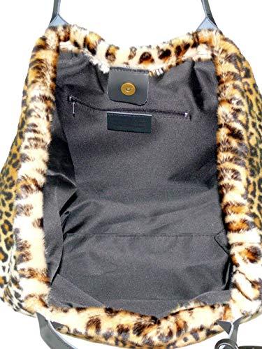 L'épaule Porter Marron Sac Unique Femme Pour À Taille Collezione Léopard Alessandro nwX0qA1Y