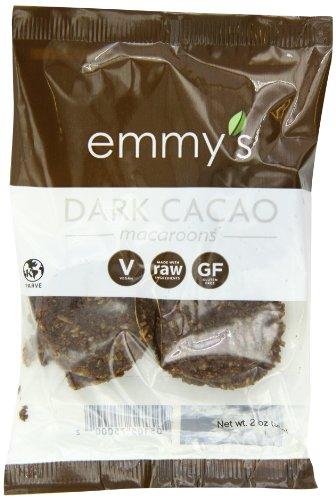 Emmy's 2oz. Dark Cacao Macaroons (12 - Coconut Macaroons Cookies