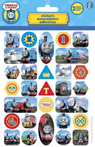 - Thomas the Tank Foldover Stickers