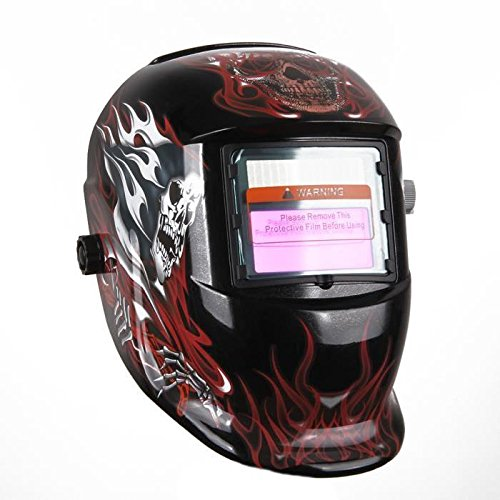 SODIAL(R) Masque de Soudure Faucheur Obscur-variable avec Filtre LCD Auto-assombrissement pour Soudeur ARC TIG MIG